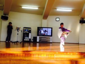 カラオケと日本舞踊のコラボレーション